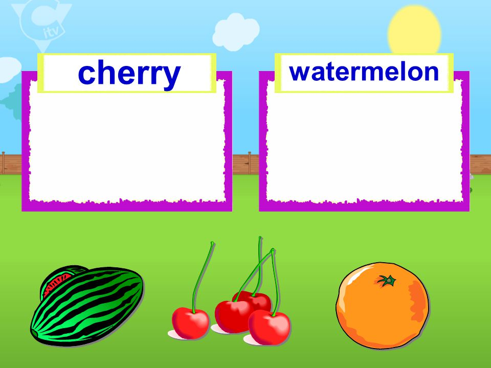 cherry watermelon