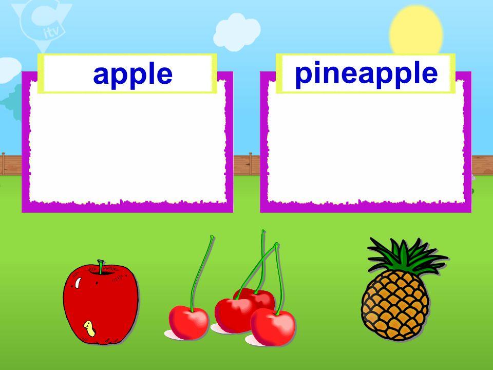 apple pineapple