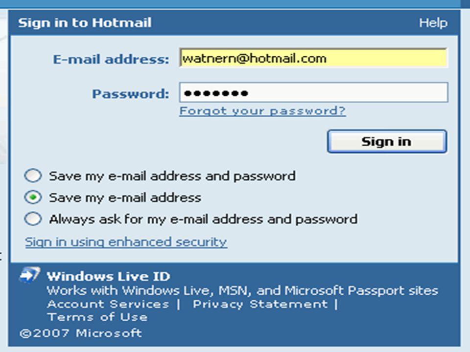 ทำการป้อน E-mail address(เบอร์อีเมล์) และPassword(รหัสผ่าน) แล้วคลิกไปที่ Sign in จะเข้าไปยังกล่องจดหมาย ดังนี้