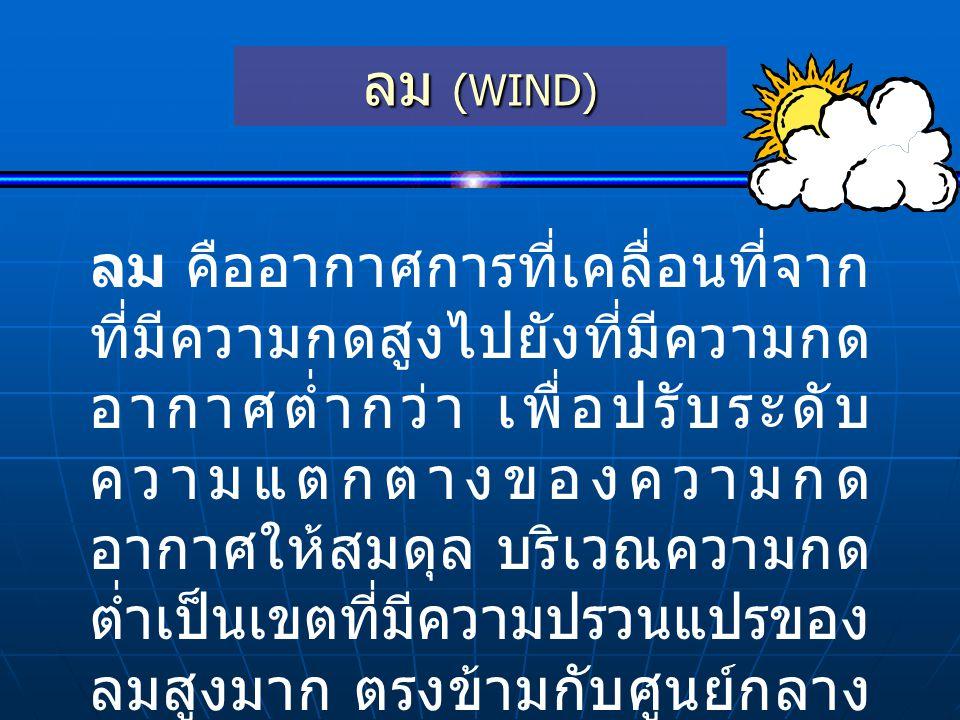 ลม (WIND)