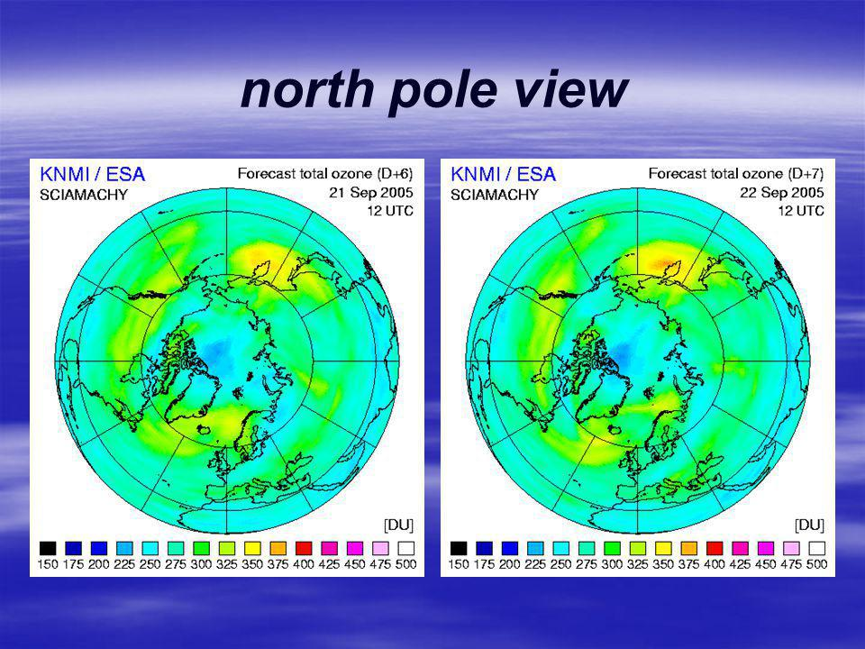 north pole view