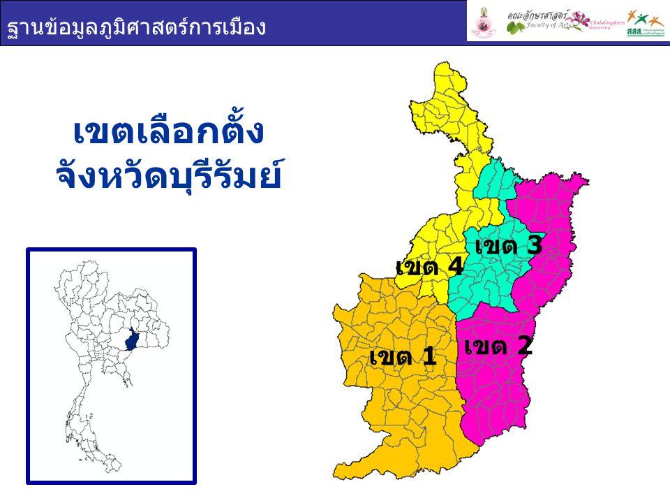 เขตเลือกตั้ง จังหวัดบุรีรัมย์