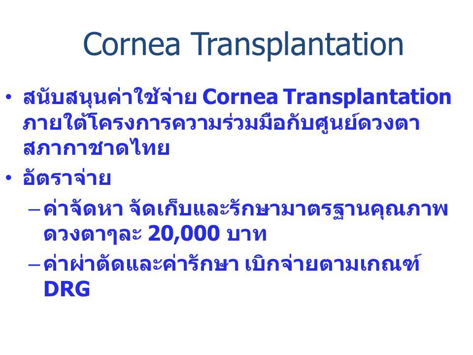 Cornea Transplantation