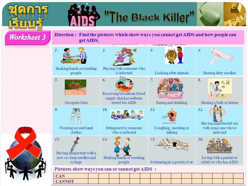 ชุดการเรียนรู้ The Black Killer Worksheet 3