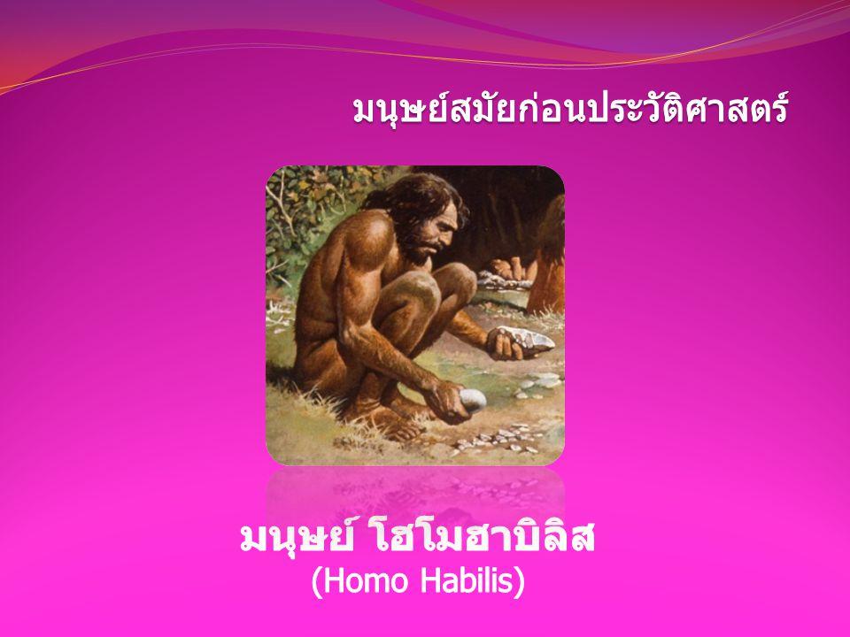 มนุษย์สมัยก่อนประวัติศาสตร์