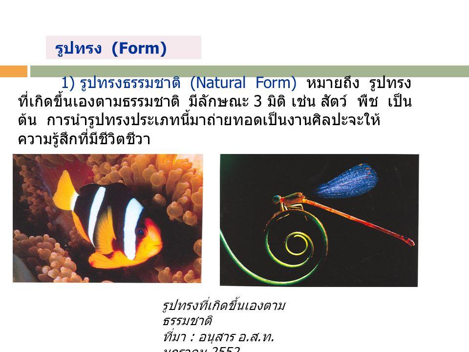 รูปทรง (Form)