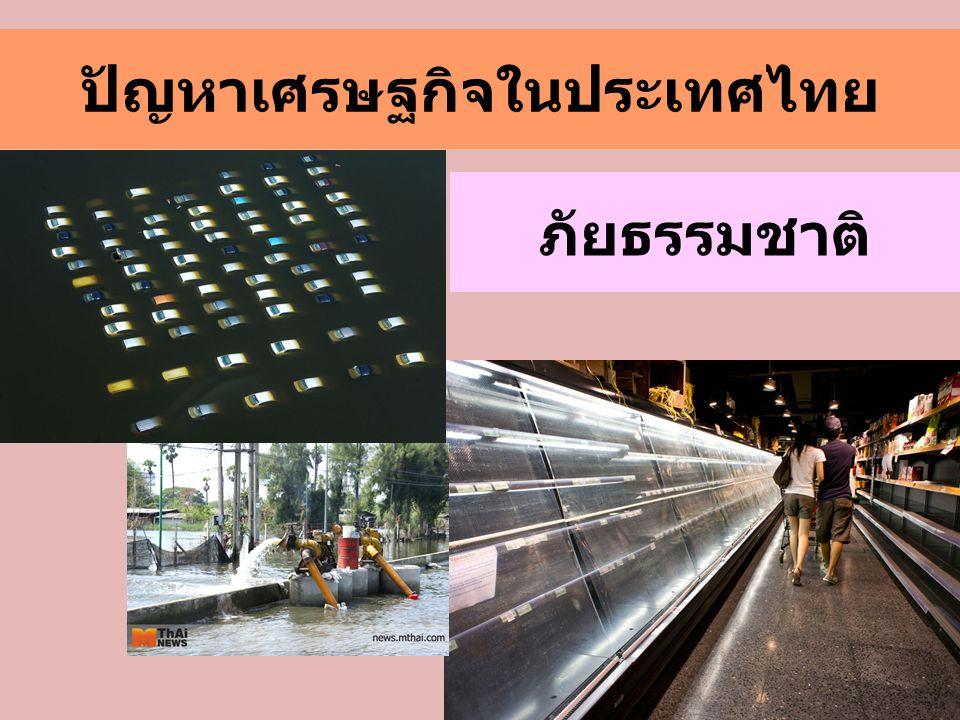 ปัญหาเศรษฐกิจในประเทศไทย