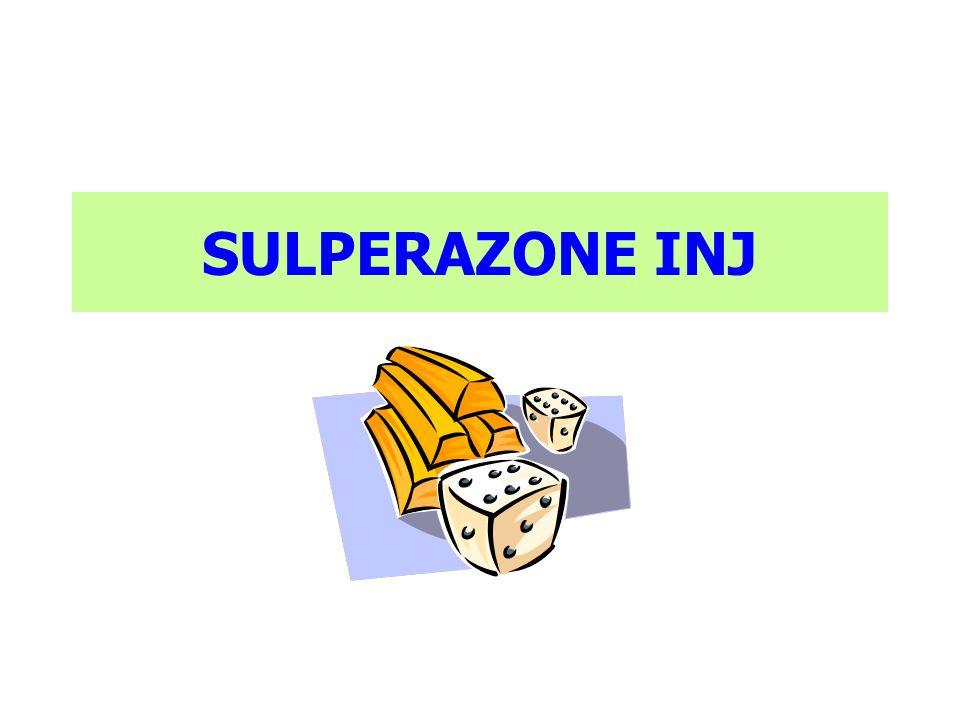 SULPERAZONE INJ