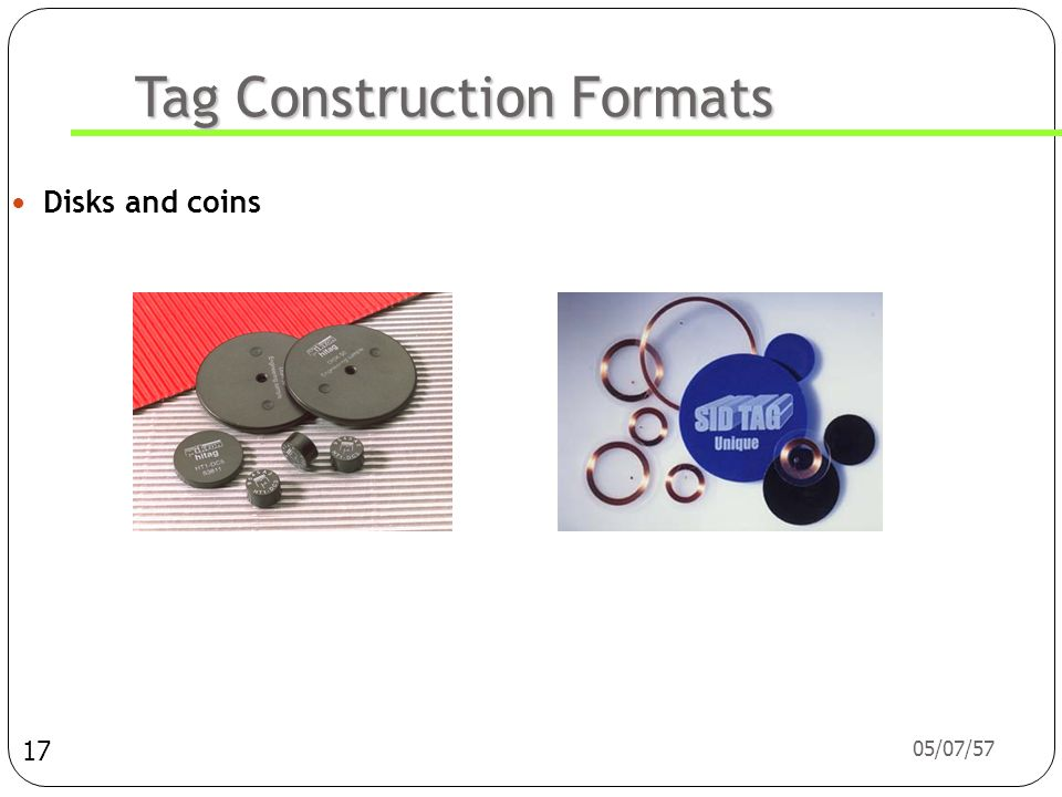 Tag Construction Formats
