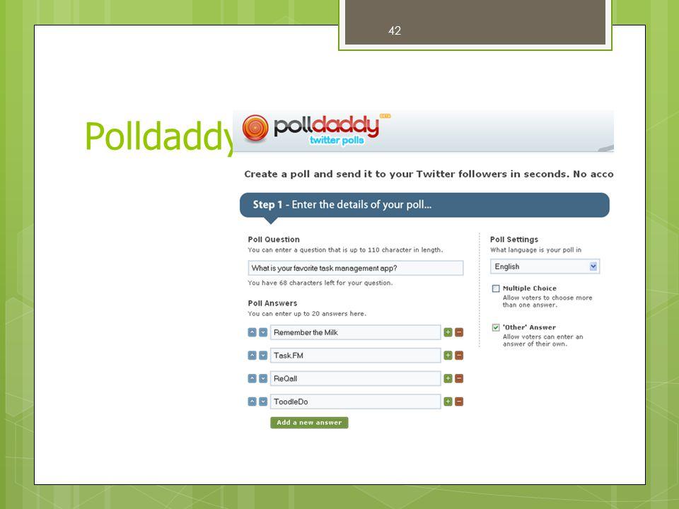 Polldaddy 42