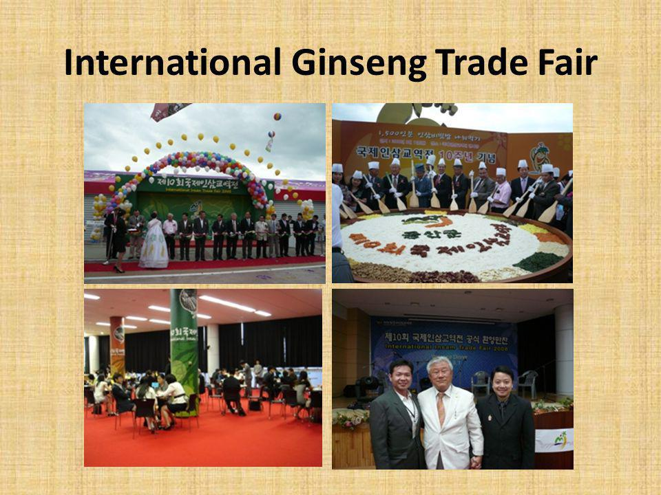 International Ginseng Trade Fair