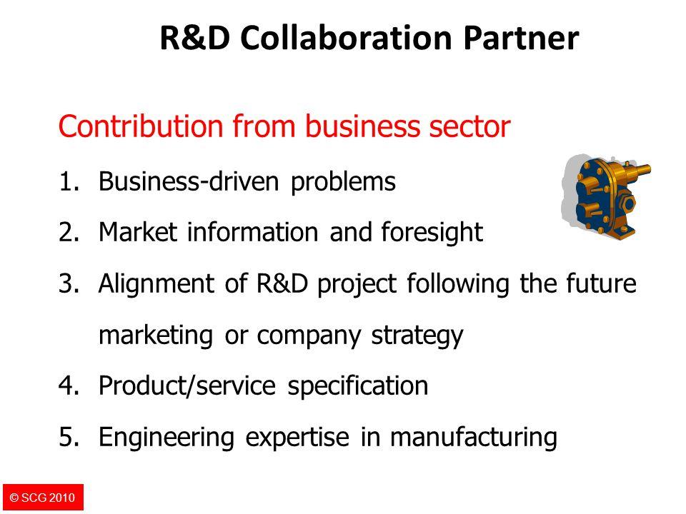 R&D Collaboration Partner