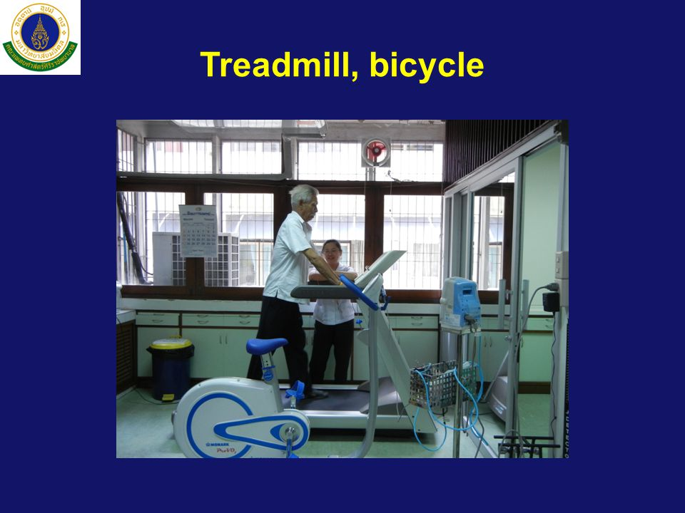 Treadmill, bicycle
