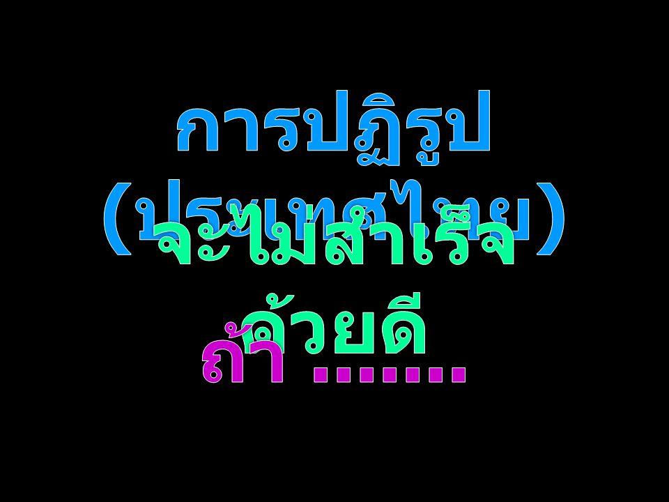 การปฏิรูป (ประเทศไทย)