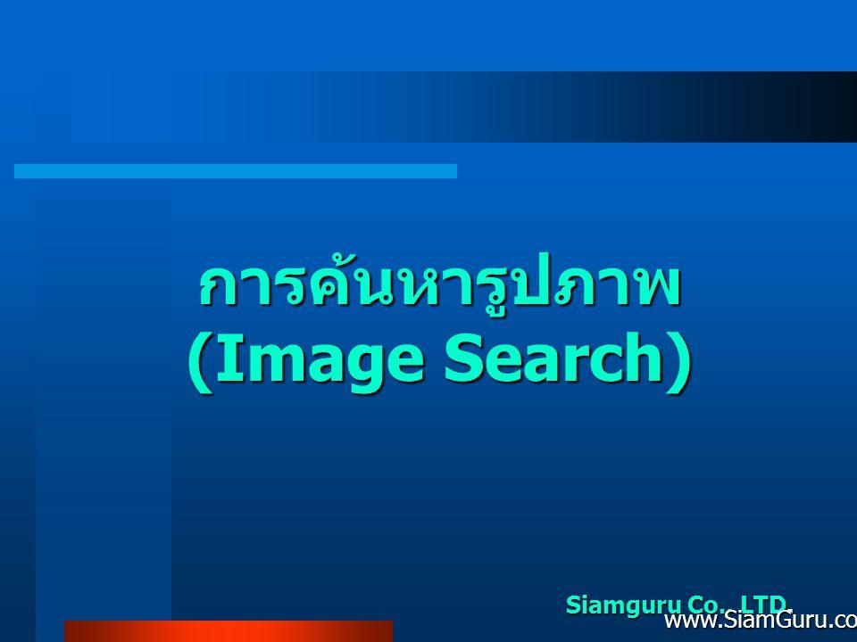 การค้นหารูปภาพ (Image Search)