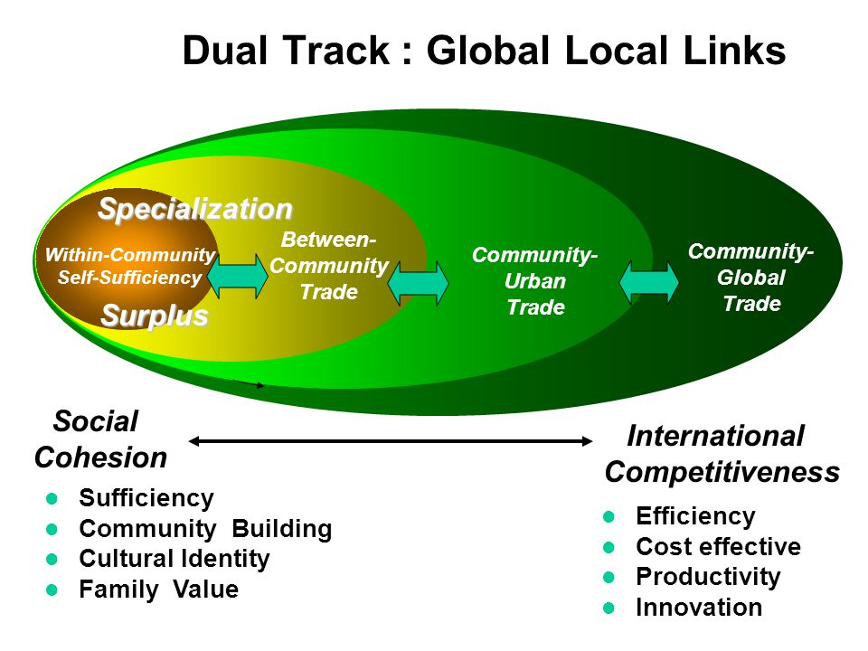 Dual Track : Global Local Links
