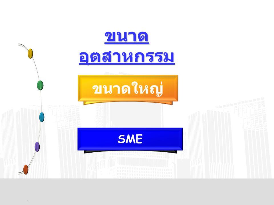 ขนาดอุตสาหกรรม ขนาดใหญ่ SME