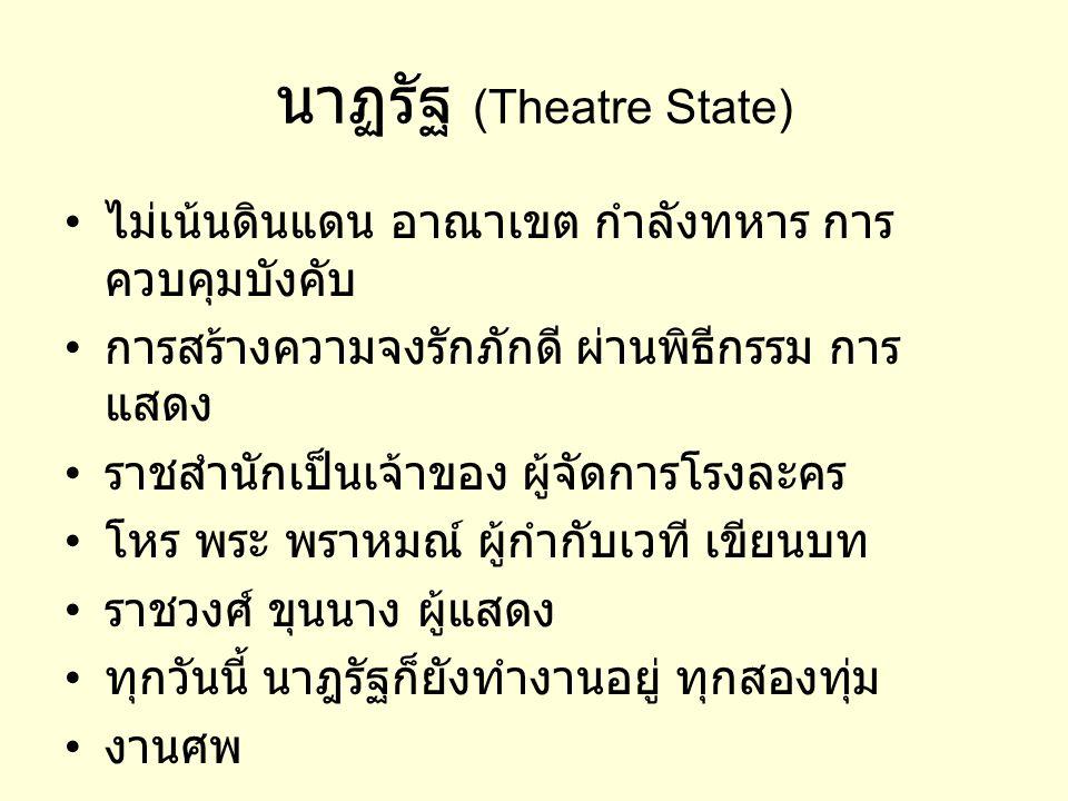 นาฏรัฐ (Theatre State)