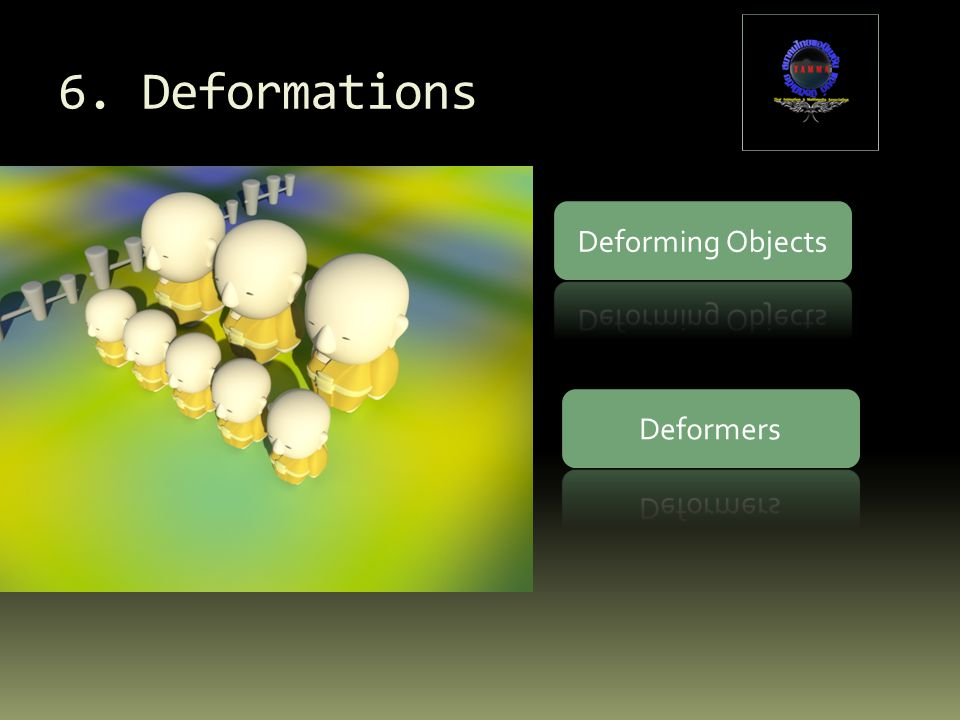 6. Deformations Deforming Objects Deformers