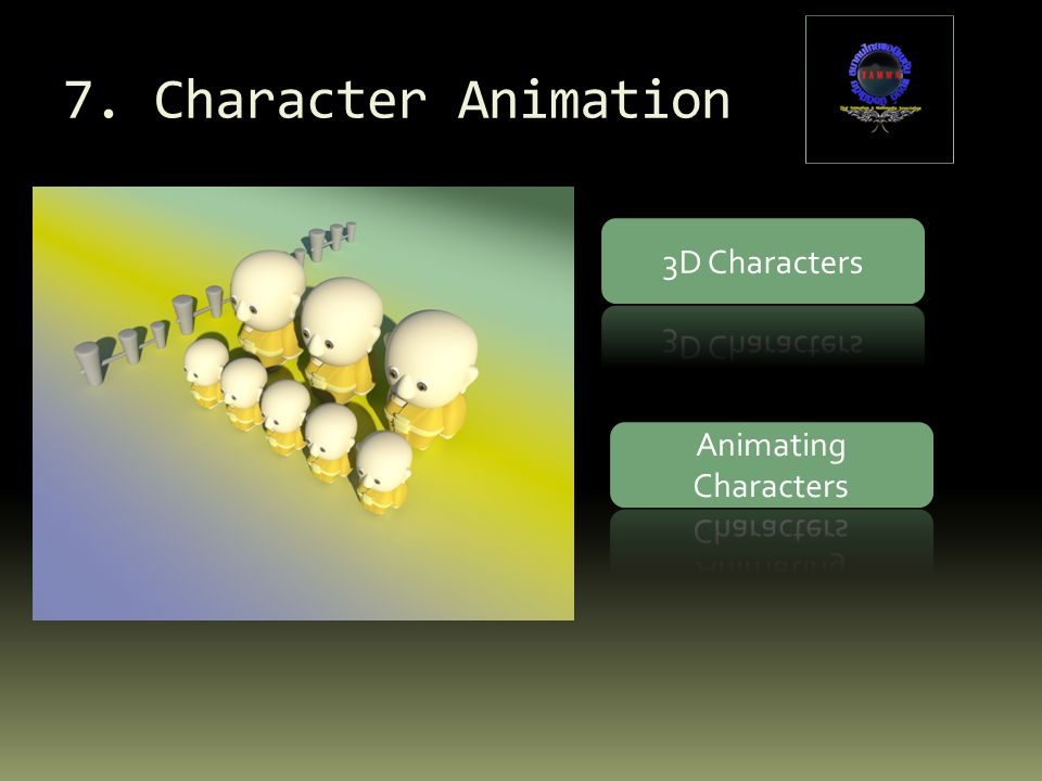 7. Character Animation 3D Characters Animating Characters
