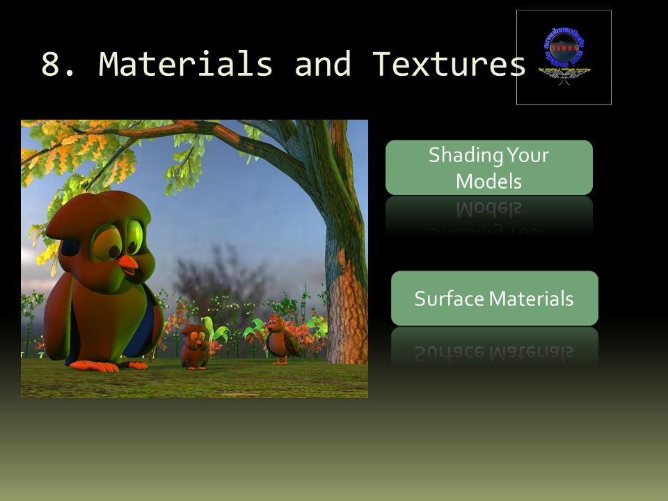8. Materials and Textures