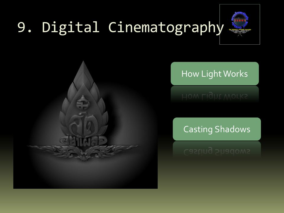 9. Digital Cinematography