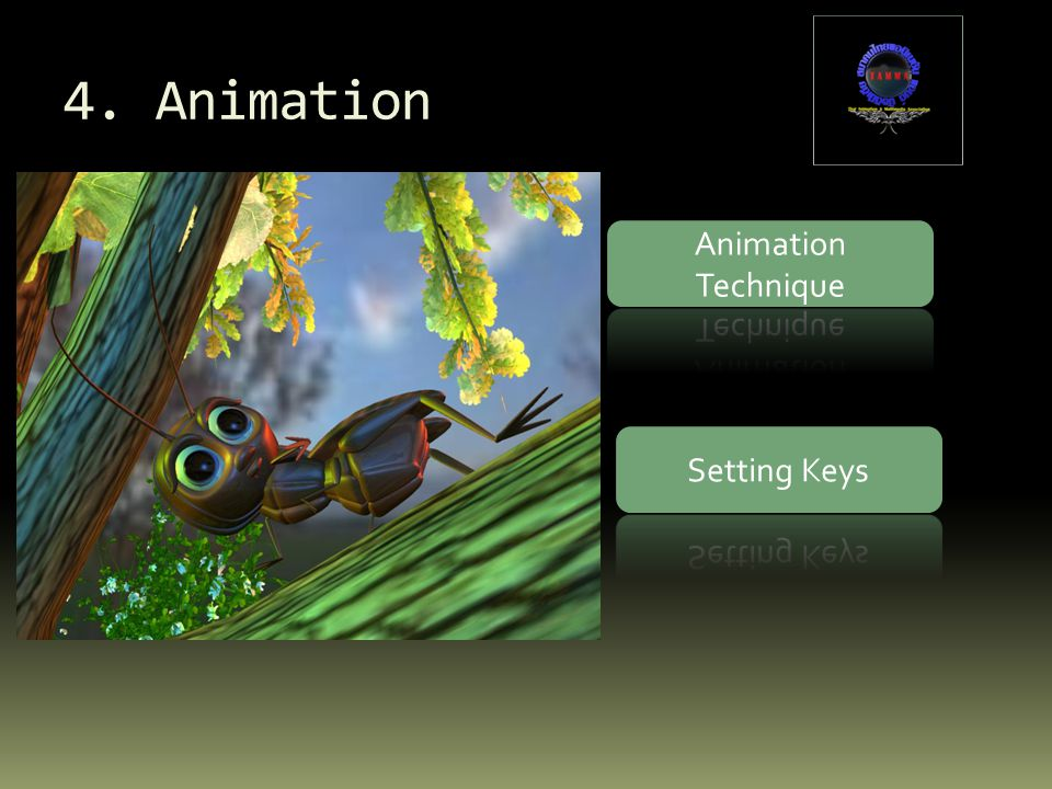 4. Animation Animation Technique Setting Keys