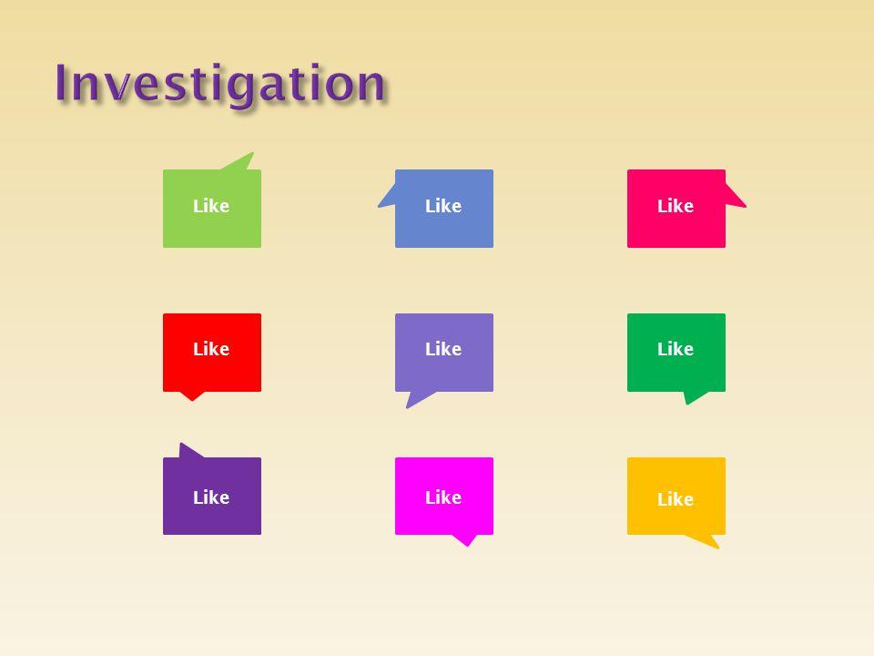 Investigation Like Like Like Like Like Like Like Like Like