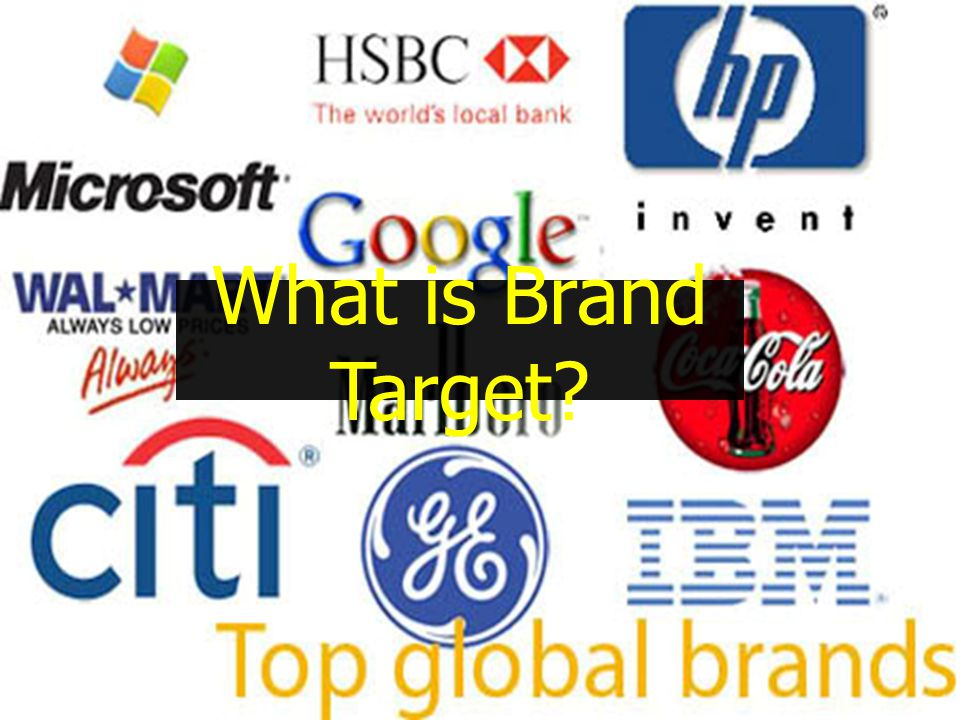 What is Brand Target