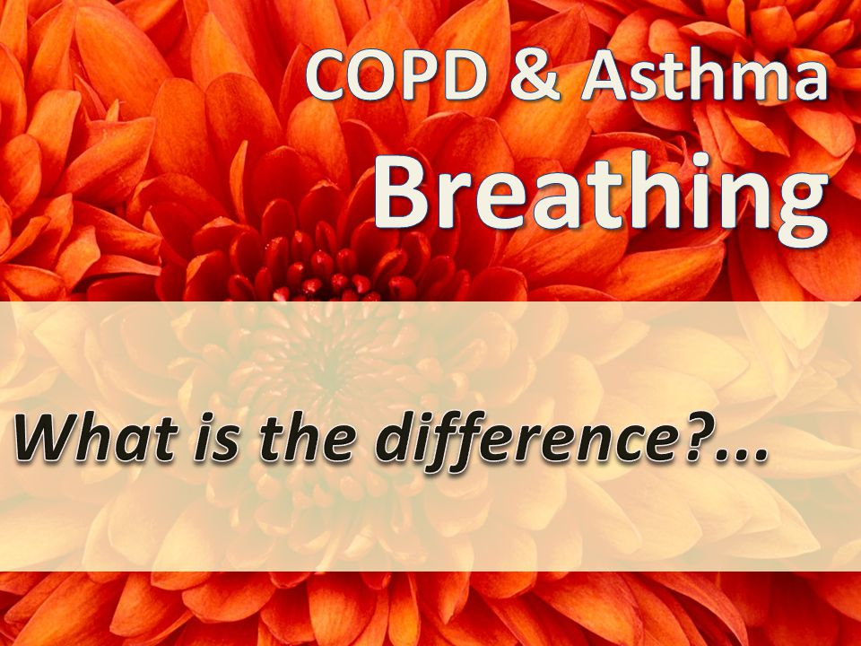 COPD & Asthma Breathing
