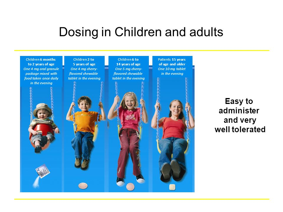 Dosing in Children Dosing in Children and adults
