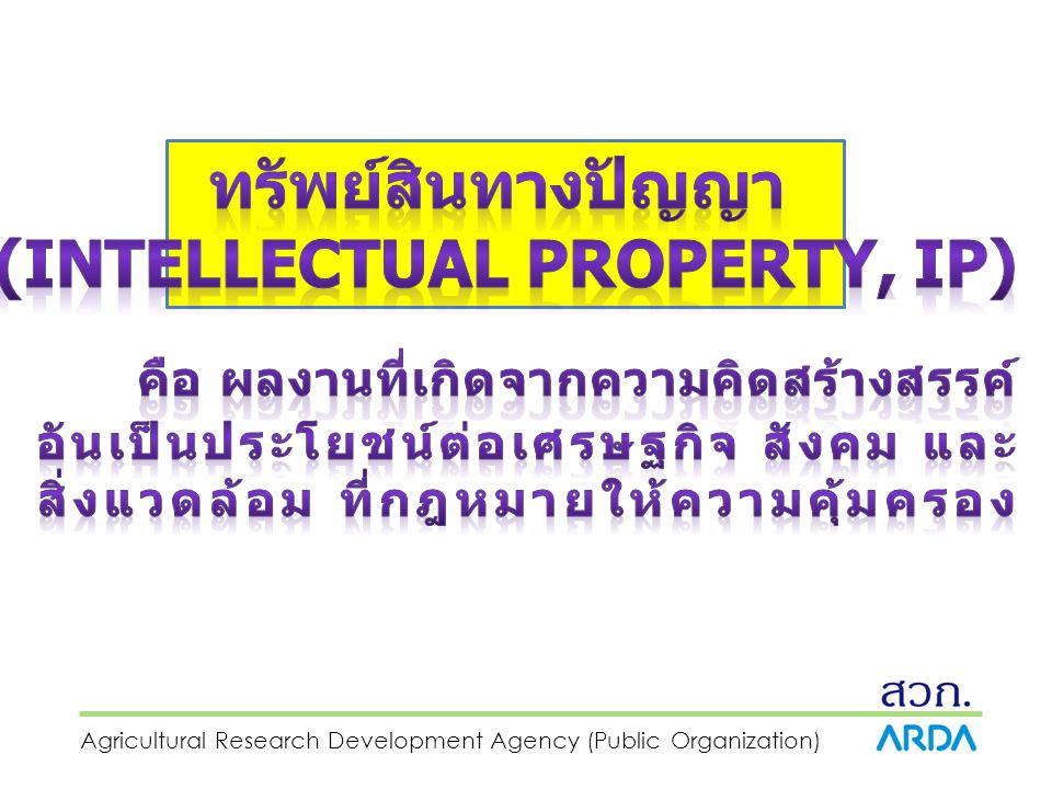 (Intellectual Property, IP)