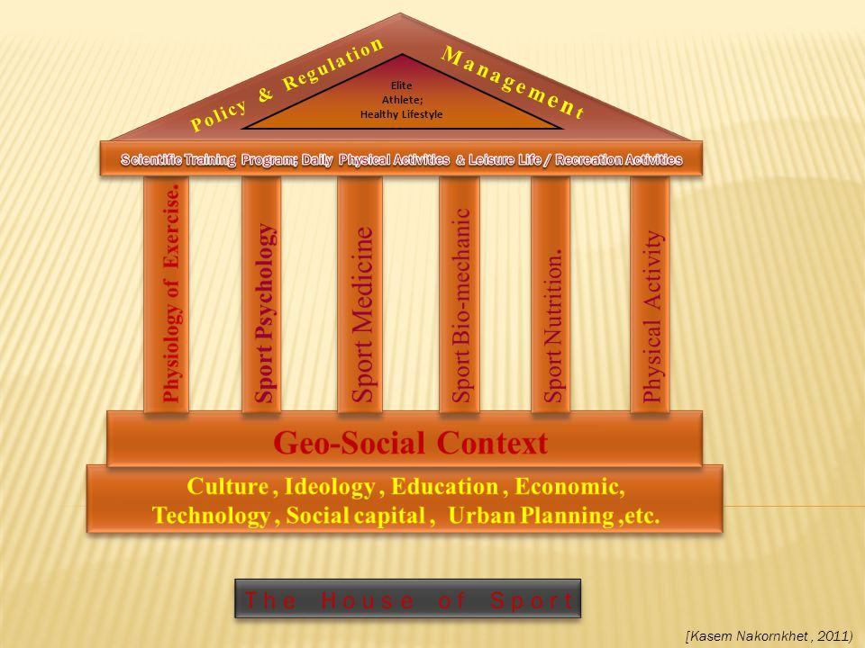 Geo-Social Context Sport Medicine Sport Bio-mechanic Sport Psychology