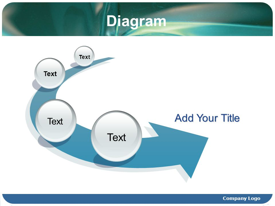 Diagram Text Add Your Title Company Logo