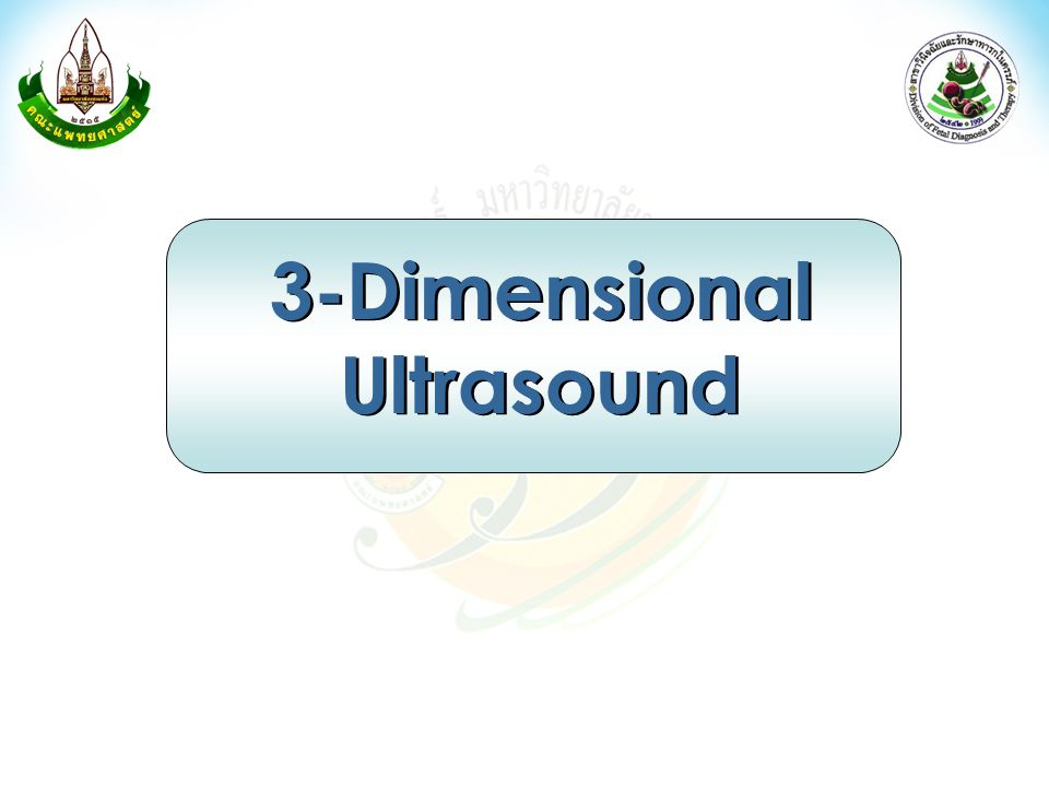 3-Dimensional Ultrasound