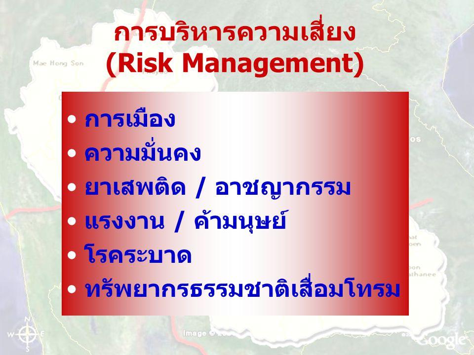 การบริหารความเสี่ยง (Risk Management)