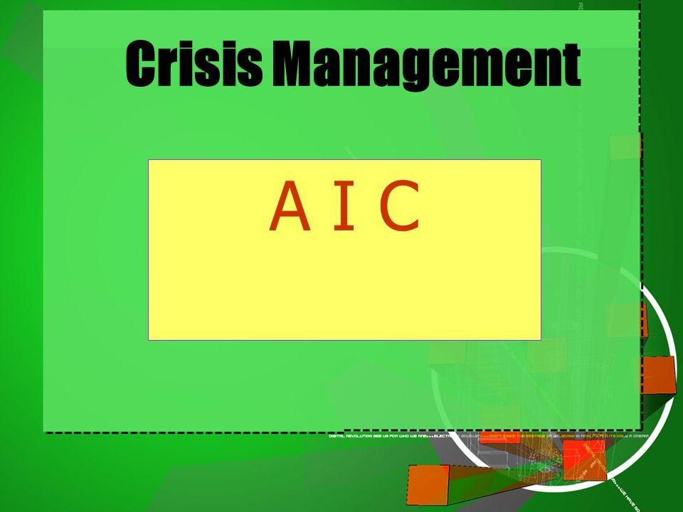 Crisis Management A I C