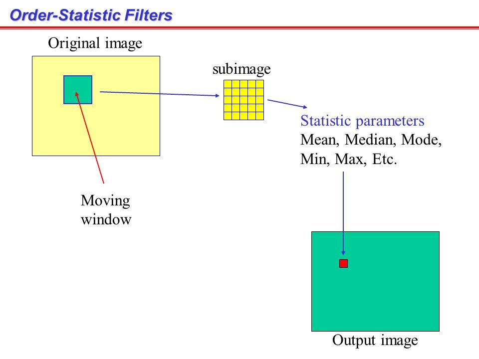 Order-Statistic Filters