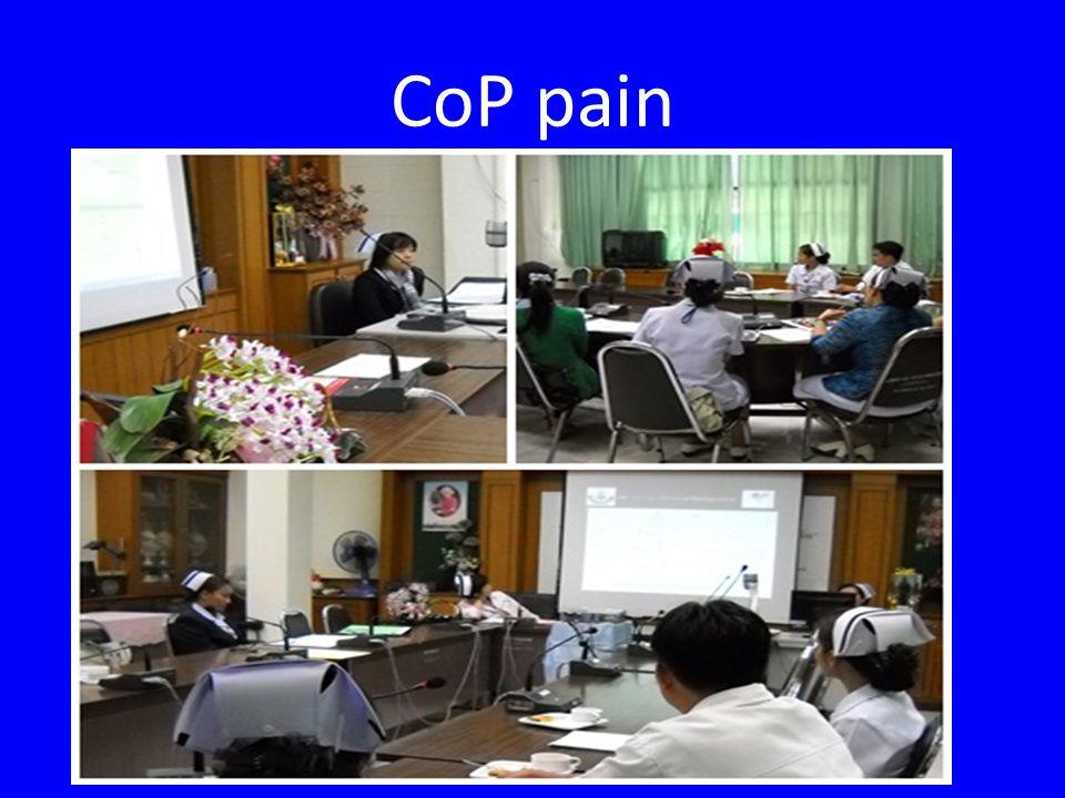 CoP pain