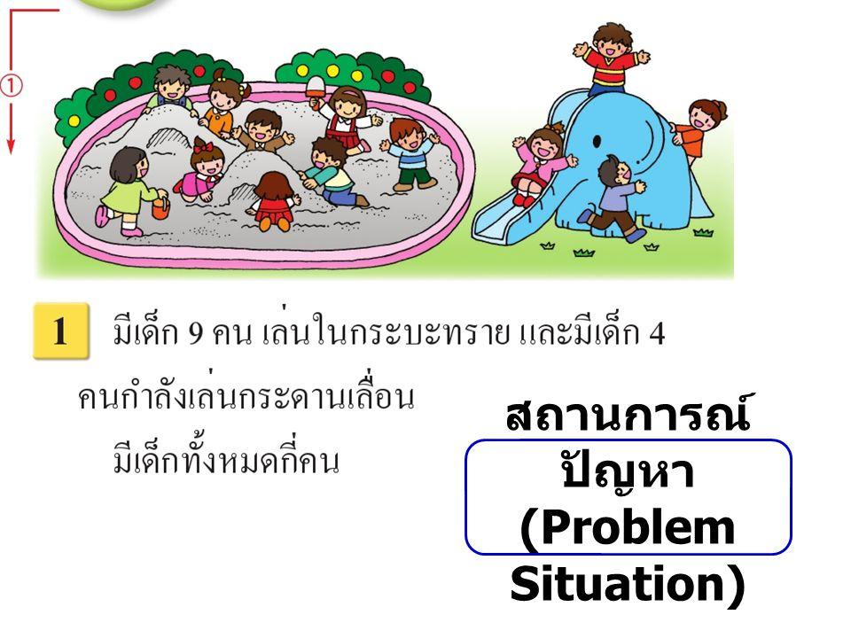 สถานการณ์ปัญหา (Problem Situation)