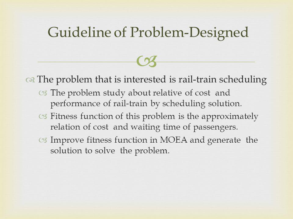 Guideline of Problem-Designed