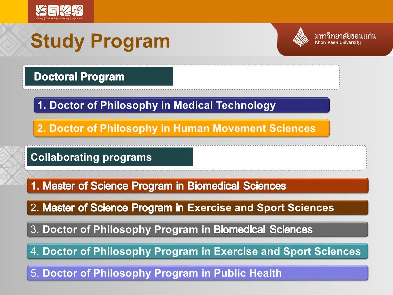 Study Program Doctoral Program