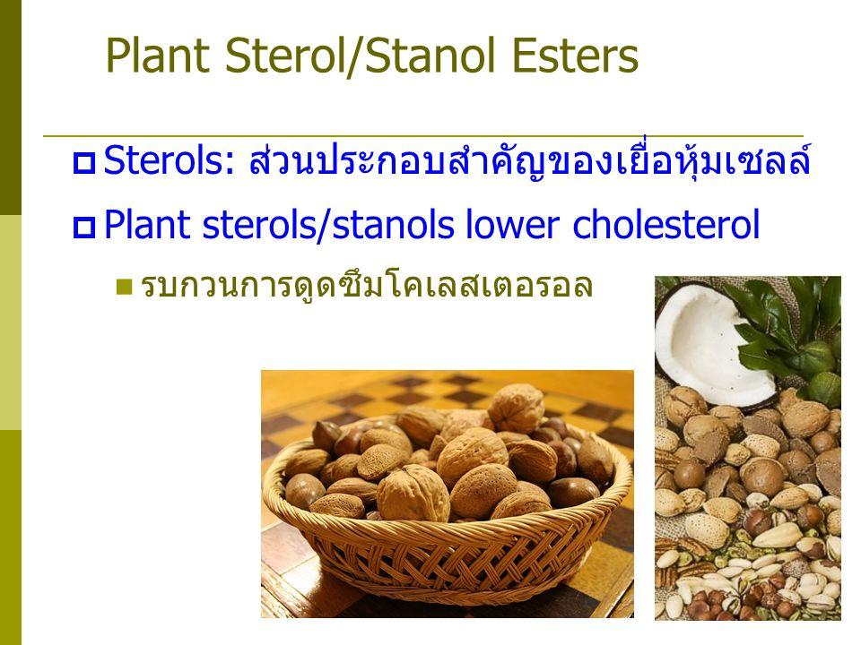 Plant Sterol/Stanol Esters