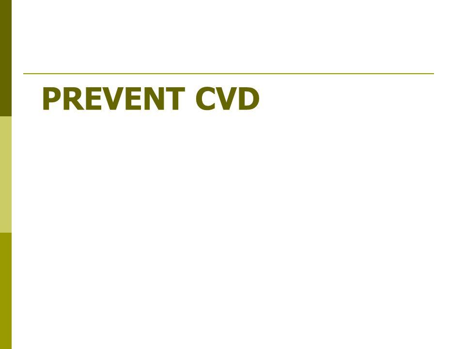 Prevent CVD