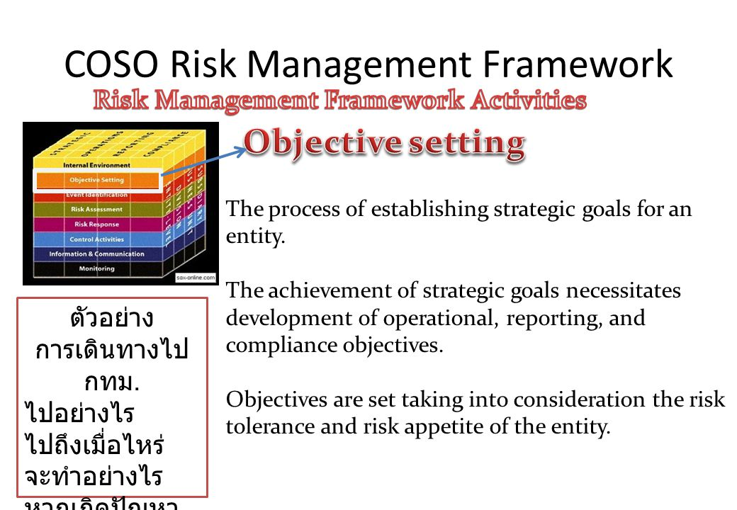 coso risk management plan Government and public sector enterprise risk management interest in enterprise risk management (erm) is growing fast among federal agencies a number of.
