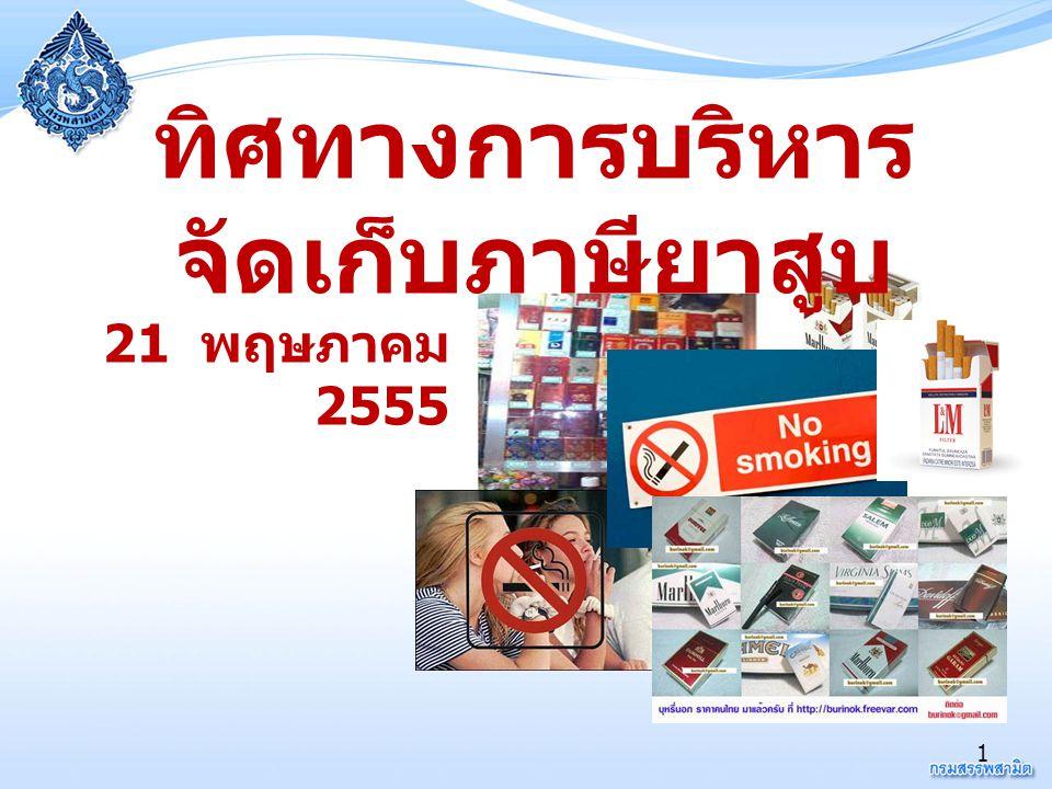 ทิศทางการบริหารจัดเก็บภาษียาสูบ
