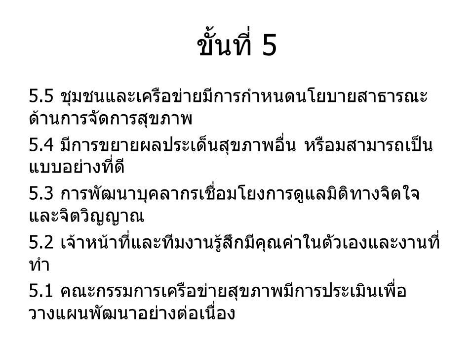 ขั้นที่ 5