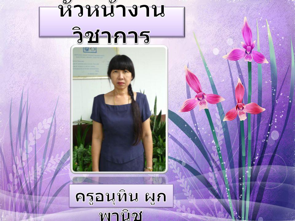 หัวหน้างานวิชาการ ครูอนุทิน ผูกพานิช