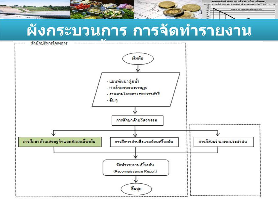 ผังกระบวนการ การจัดทำรายงานเบื้องต้น (RR)