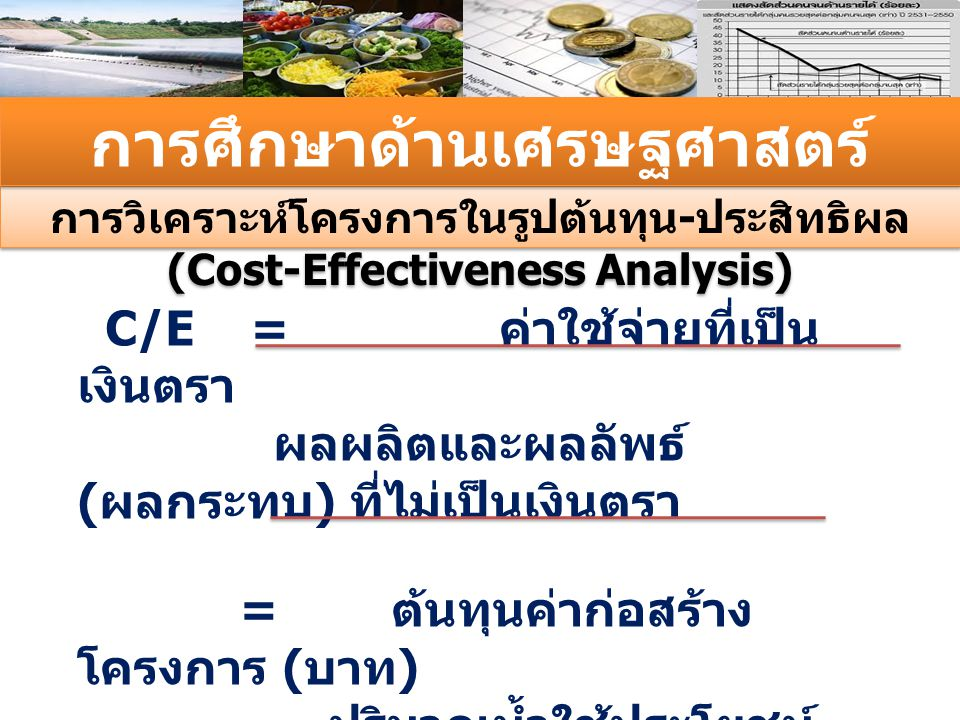 การศึกษาด้านเศรษฐศาสตร์